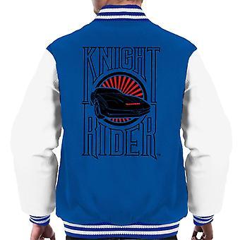 Knight Rider Text And Logo Men's Varsity Jacket