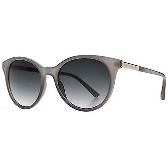 French Connection Soft Round Sunglasses - Light Grey