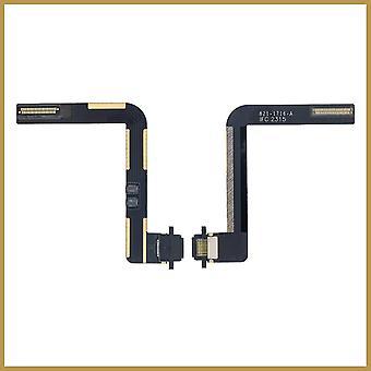 Til udskiftning af USB-opladerstik til iPad 6. gen 2018- Sort