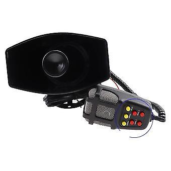 Auto hoorn met microfoon luide motorfiets sirene voertuig waarschuwing alarm