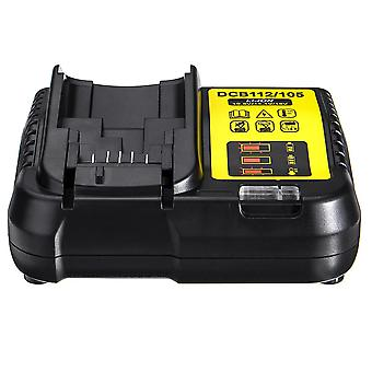 D EWALTバッテリーDCB112 / 105 12V MAXと20V MAXリチウムイオン用スマートバッテリー充電器