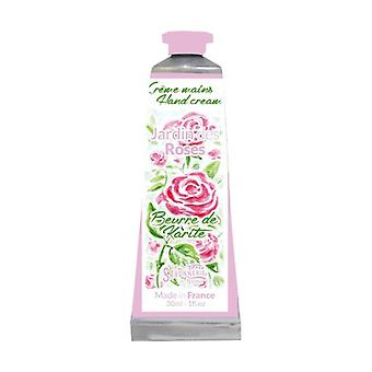 Käsivoide puutarha ruusuja 30 ml kermaa
