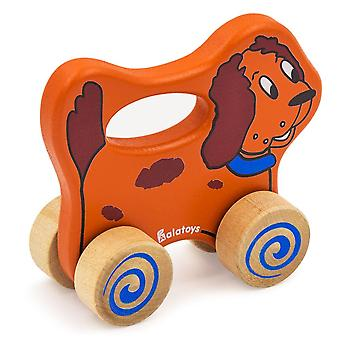 "Alatoys Madera Push&Pull ""little dog"""