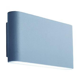 Aplique led buitenkant 17 cm, En Aluminio Y Policarbonato.