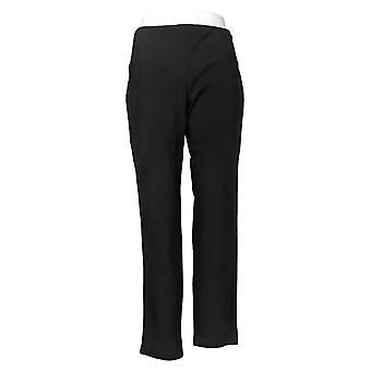 Women With Control Petite Tummy Cntrl Tushy Lifter Slim Leg Black A284090