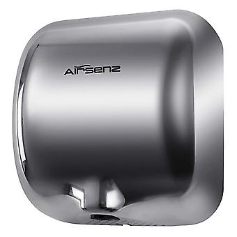 AIRSENZ i-Force Hand Dryer | Electric | Automatic | High Speed | Heavy Duty (Chrome)
