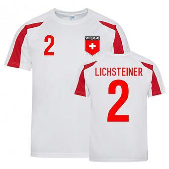Stephan Lichsteiner Sveitsi Urheiluvaltuuskunta Jersey (valkoinen-punainen)