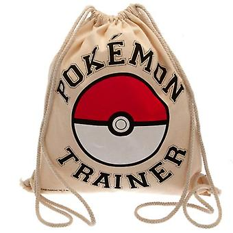 Pokemon Canvas Drawstring Bag
