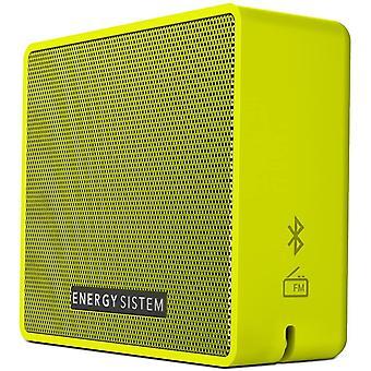 Music Box 1+ - Altavoz Porttil, Bluetooth v 4.1, 5 W, microSD MP3, Radio FM, Audio-In, Color Verde