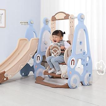 Baby Slide Swing Stol 5 i 1 Inomhus dagis Slide Kombination Barn