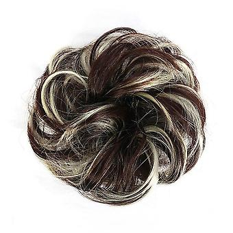 Femmes Synthétique Messy Curly Scrunchies Wedding Extensions Cheveux