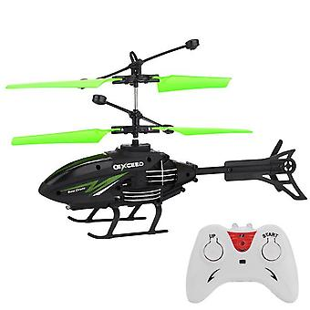 Kauko-ohjattava helikopteri mini rc infrapuna induktio rc lelu 2ch gyro helikopteri rc drone radio-ohjatut koneet drone Игрушки