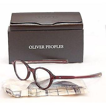 Oliver Peoples Eyeglasses Frame Rowan Plastic Roc/Rose Japan 46-21-140 Very Rare