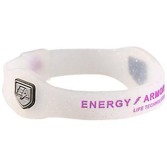 Armura de energie - Silicon Unisex Viola Sparkle / Viola Brățară Dimensiune: Mici