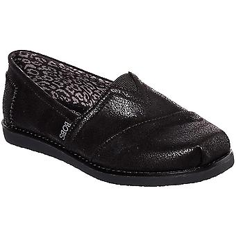 Skechers Donna Bobs Gypsy Flats Slip On Casual Shoes Espadrilles