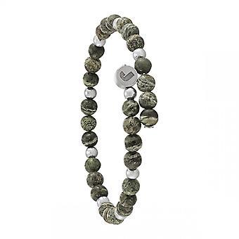 Bracelet Homme Jourdan JH150025B - ABYSSES - Perle vert