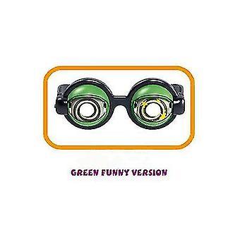 Vihreät hauskat lasilelut lapsille, jotka sopivat halloweeniin x3977