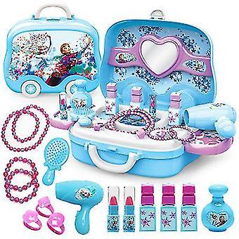 女の子のための青いふりメイク 少し女の子王女のメイクアップセットx1816