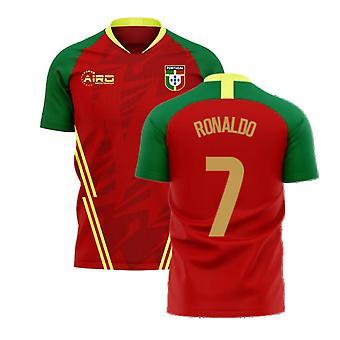 Portugal 2020-2021 Home Concept Fußball Kit (Airo) (RONALDO 7)