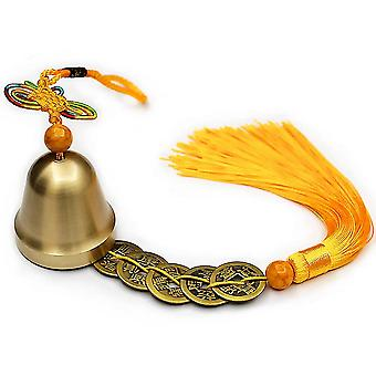 New Copper Bells Pendant Safe Pure Copper Wind Chimes Campanula Ornaments ES13470