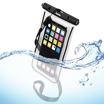 Sac extérieur Hama «Playa» pour Smartphones, Taille XXL, noir