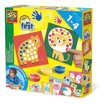 SES Creative Children's My First Fingerprint Paint Art-activiteitenset