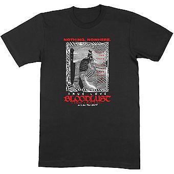 Nothing,Nowhere - Digital Landscape Unisex Medium T-Shirt - Black