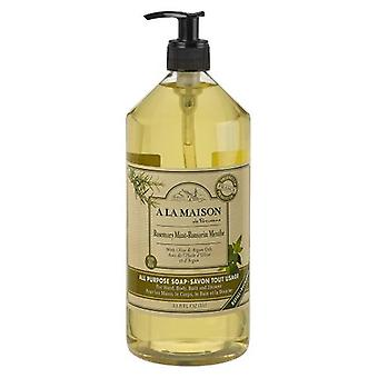 A La Maison Liquid Hand Soap, Rosemary Mint 33.8 Oz