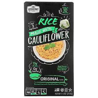 Veggiecraft Rice Dry Cauliflwr Orgnl, Case of 12 X 7.5 Oz