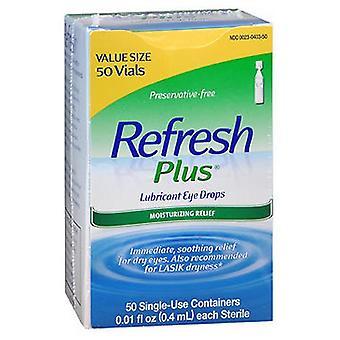 Refresh Refresh Plus Smarowe krople do oczu Pojemniki jednorazowego użytku, 50 ct
