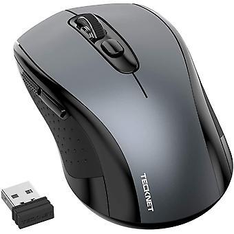 Wokex Wireless Mouse, 2.4G Cordless Mice with Nano Receiver, 2000DPI 3 Adjustable Levels, Ergonomic