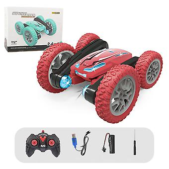 Rc Cars Stunt Car Toy, 2.4ghz Double Sided Rotating Vehicles