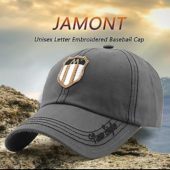 Jamont 2017 Spring New Style Men Women Embroidered Baseball Cap Cotton Hat