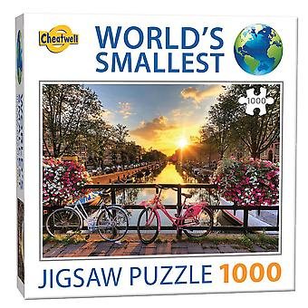 World's Smallest Jigsaw Puzzle - Amsterdam (1000 Pieces)