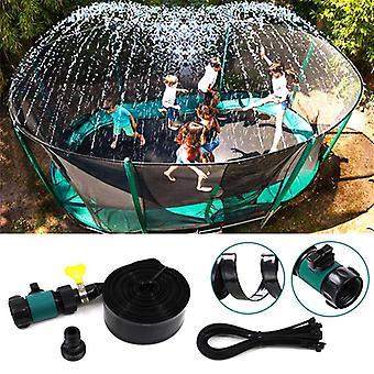 Trampolínový postřikovač pvc velkokapacitní odolná venkovní voda hračky zahradní chladicí nástroje