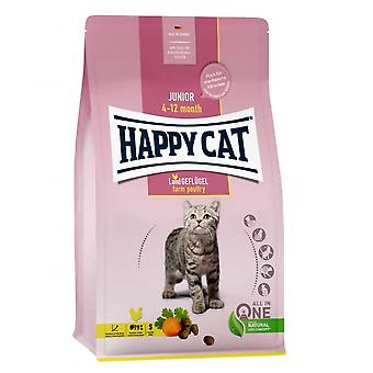Happy Cat Junior Poultry (Cats , Cat Food , Dry Food)