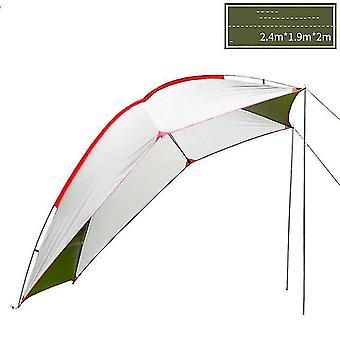 Bil bagagerum SUV selvkørende tur udendørs camping telt parasol og regntæt picnic lys husly