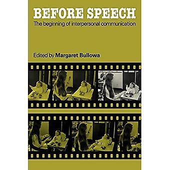 Before Speech