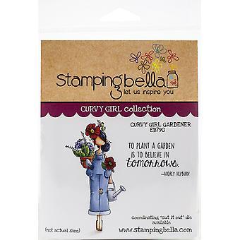 Stamping Bella Cling Stamps - Curvy Girl Gardener