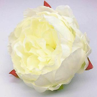 50Pcs/lot 10cm peony flower head artificial flower for wedding party home decoration diy fake flowers wall garland ky138