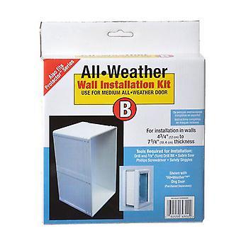 "Perfect Pet All Weather Wall Installation Kit - Medium (7"" x 11.25"" Flap Size)"