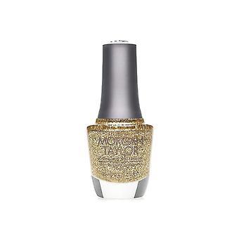 Morgan Taylor glitter och guld slät långvarig nagellack lack