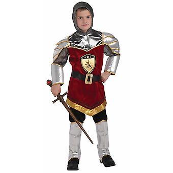 Dragon Slayer Knight kriger middelalderlige kjole op drenge kostume