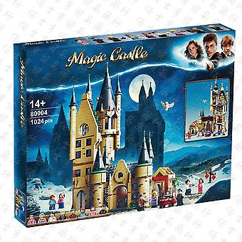 Compatible With Lego 80004 Harry Potter Series Observatory Building Scene Assembled Building Block- Educational Toy Model (1024pcs)