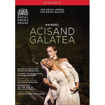 G.F. Haendel - Acis & Galatea [DVD] USA import