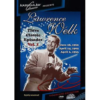 Lawrence Welk - 3 Classic Episodes of the Lawrence Welk Show [DVD] USA import