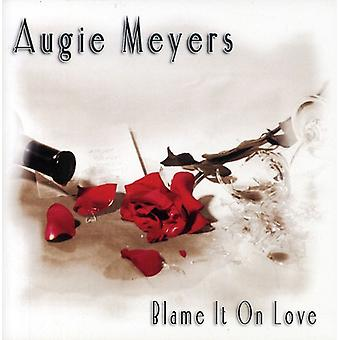 Augie Meyers - Blame It on Love [CD] USA import