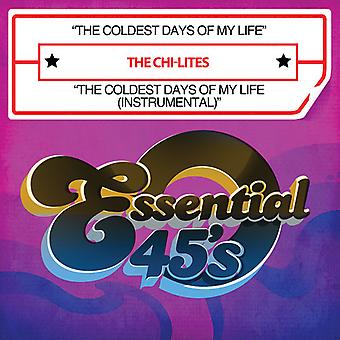 Chi-Lites - kältesten Tage meines Lebens/die kältesten Tage des meine Lif [CD] USA import