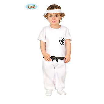 Kung Fu fighter karate Kungfukostüm baby kostym