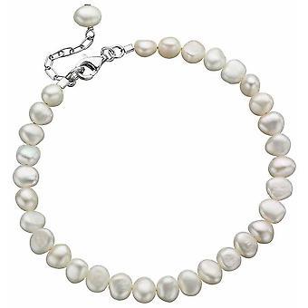 Perla de agua dulce pulsera de plata 925
